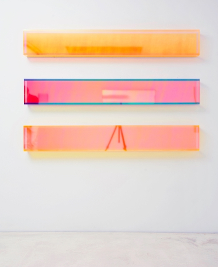 Regine Schumann, color rainbow and soft new york horizontal, 2016