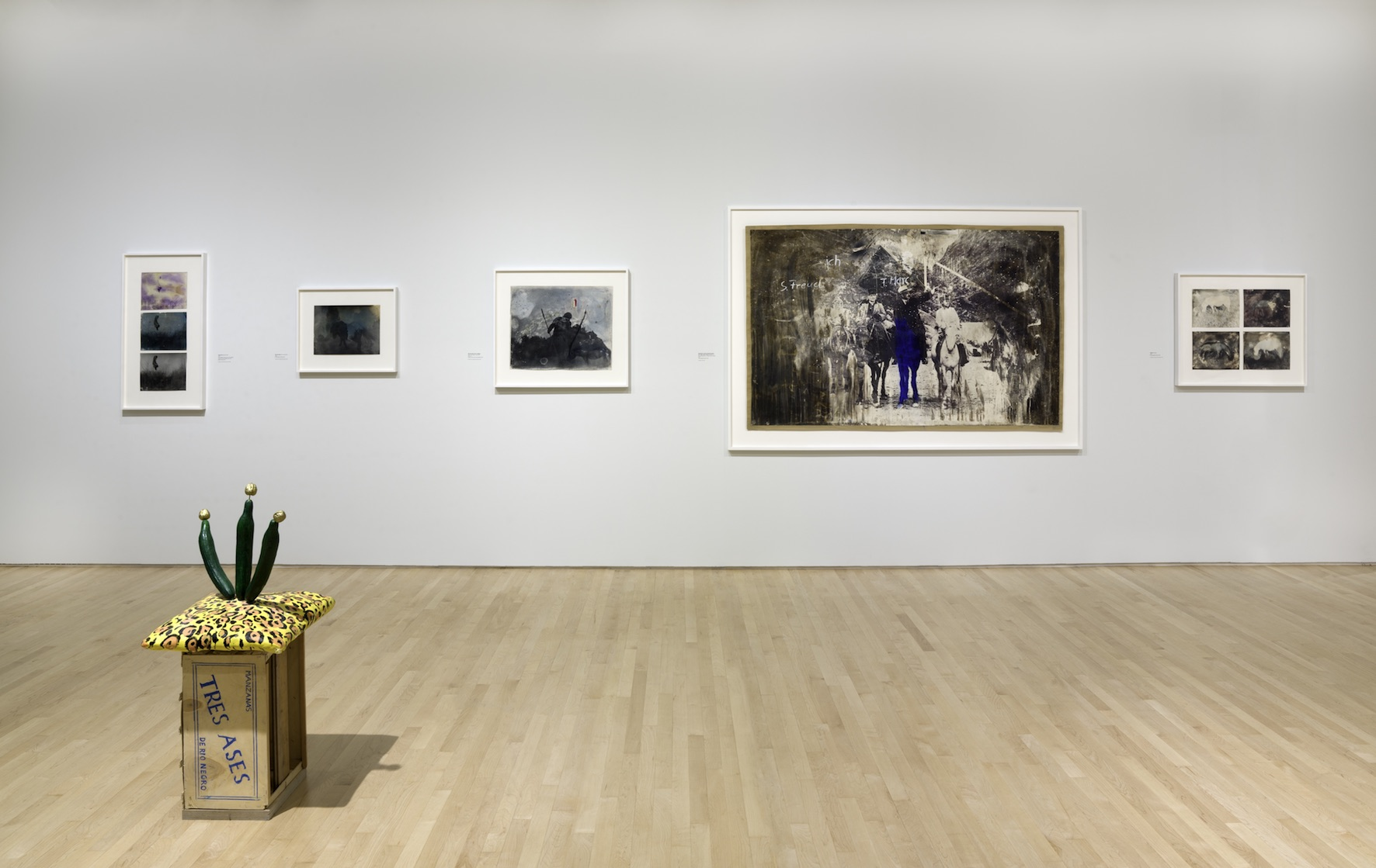 Johannes Brus, installation view at the San Francisco Museum of Modern Art, Oct 27, 2018 - Jun 16, 2019, photo Katherine Du Tiel
