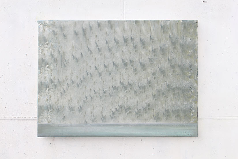 Andreas Bausch, o.T., 2005 - 2019, Oil on canvas, 53 x 74 cm.